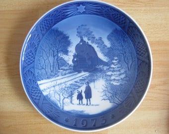 Royal Copenhagen Christmas Plate 1973