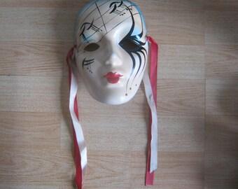 Pottery Wall Mask