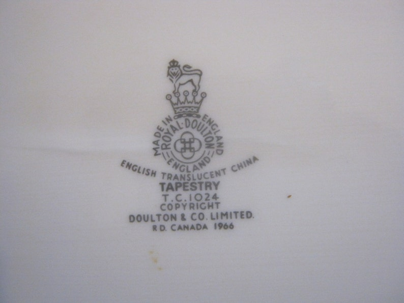 Royal Doulton Tapestry Oval Platter TC1024