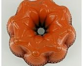 Nordic-Ware Bundt Cake Pan Fiesta Party Heavy Duty Metal two tone orange red USA