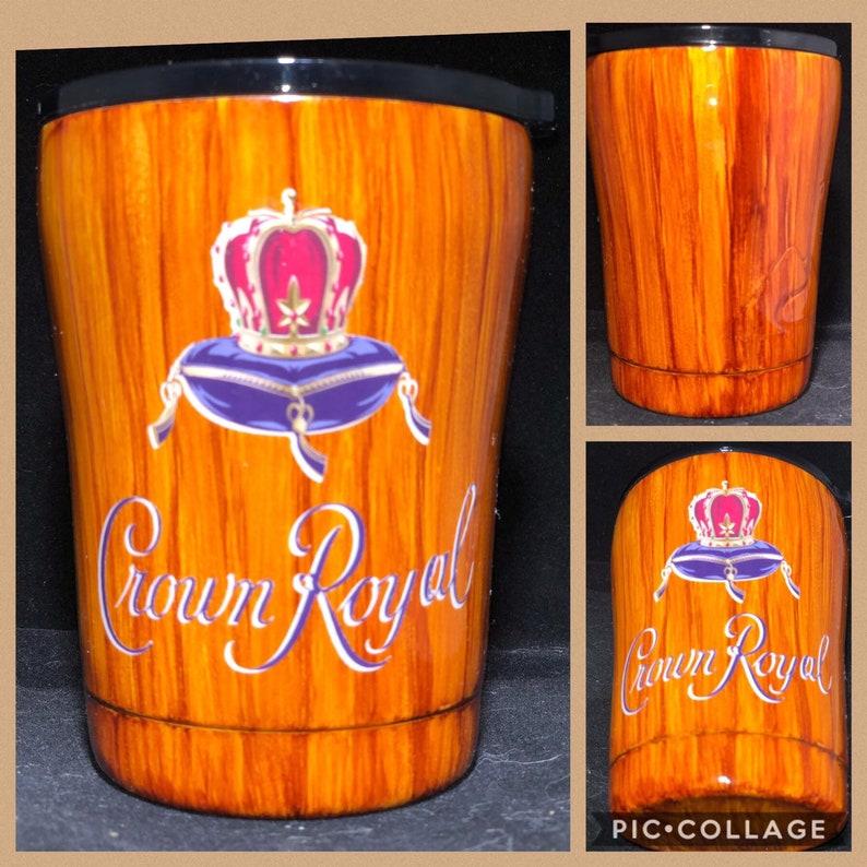 397134b9a2d Crown Royal Woodgrain Epoxy Tumbler