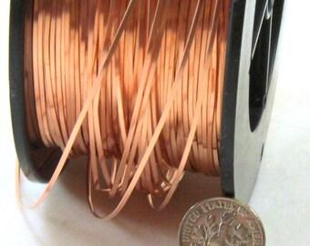 SOFT 270 Ft. Coil // 3 Oz 26 Ga Copper  Craft Wire Solid Pure Copper