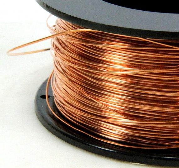 Copper Jewelry Wire 008 Copper Wire Craft Wire 20 Feet Dead Soft 22 Gauge