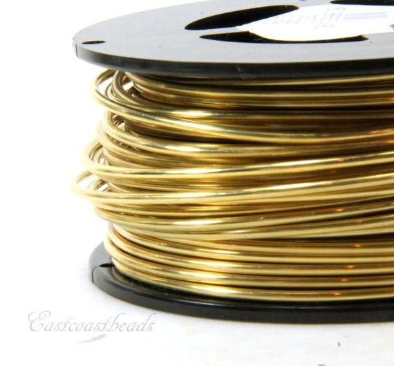 20 Ga Solid Bronze Soft Round Wire 1 Oz  22 Feet On  Coil Bronze wire