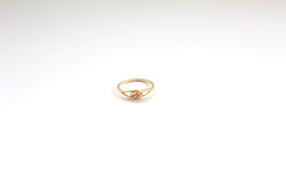 Thin  Stacking Gold Filled Ring, Vintage Ring, Gold Gemstone Ring,Gold Stackable Ring, Bridesmaid Ring by Etsy