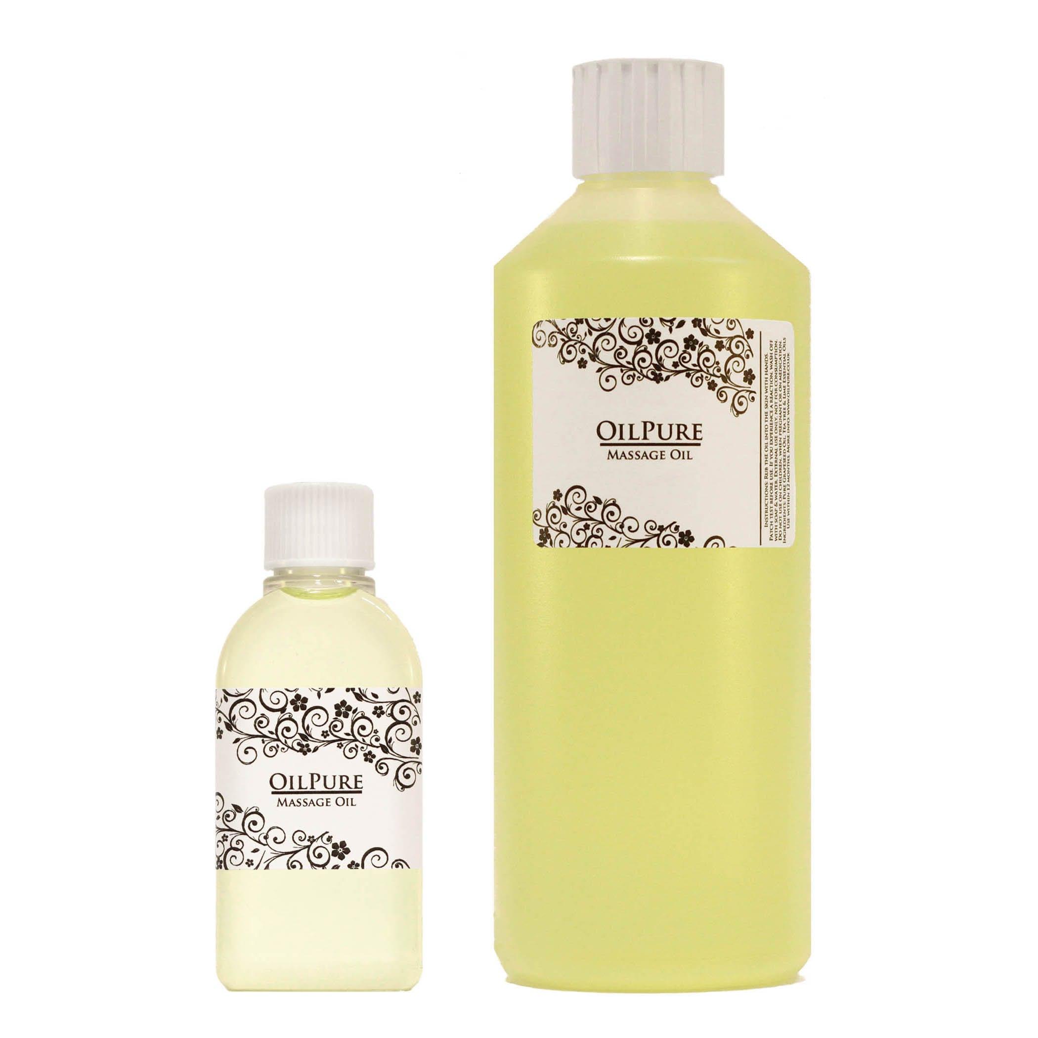 A Sensual Massage massage oil sensual blend, erotic aphrodisiac romantic, pure natural oils.
