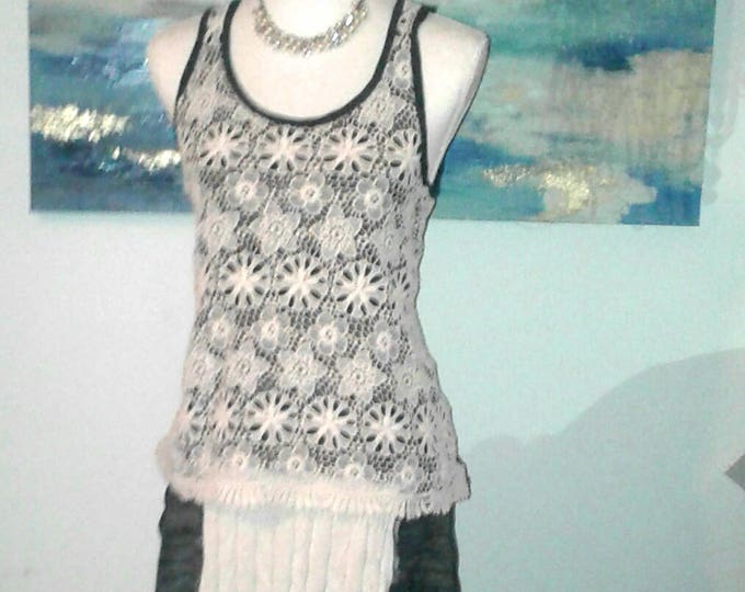 Artsy Clothing,Boho Chic,Long Maxi Dress,Upcycled Dress,Bohemian,Refashioned,Hippie,Sweater Dress,Womens Clothing,tank top, one of a kind