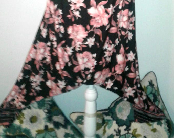 SUMMER SALE! NEW,2x,maxi,skirt,aladdin,Harem,Pants,dress,jumpsuit,boho,harem,upcycled,clothing,plus,refashioned,yoga,drop crotch,repurposed,