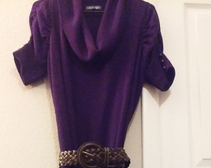Gorgeous,1x,purple,upcycled,plus,womens,dress