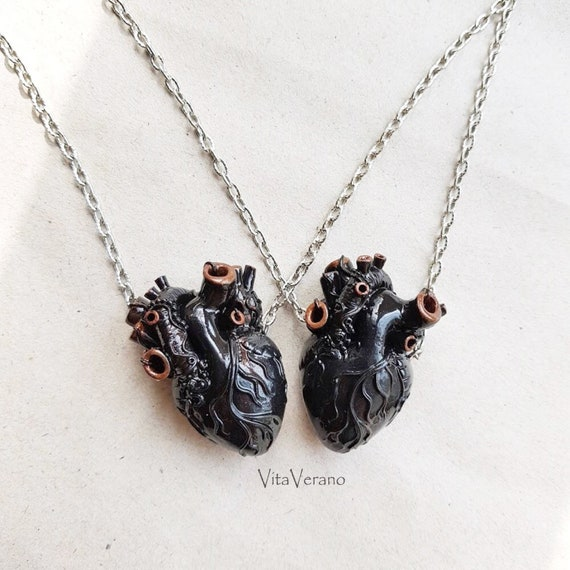 sisters Besties necklaces necklaces friends sisters soulmates heart