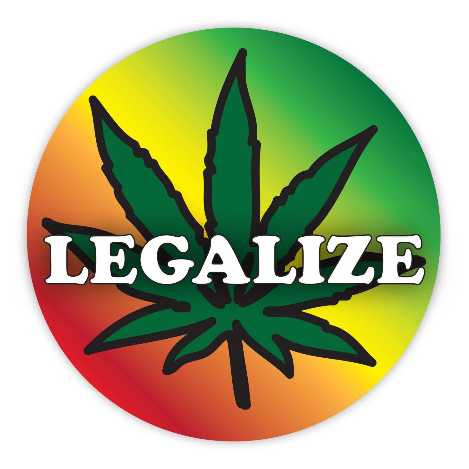Legalize marijuana stickers legalize weed stickers etsy