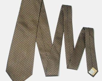 Jim Thompson Weave Check Multi Color Silk Necktie Tie