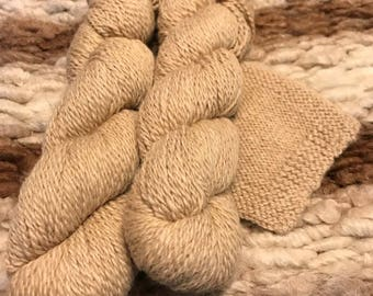 Alpaca Yarn- Worsted- Fawn
