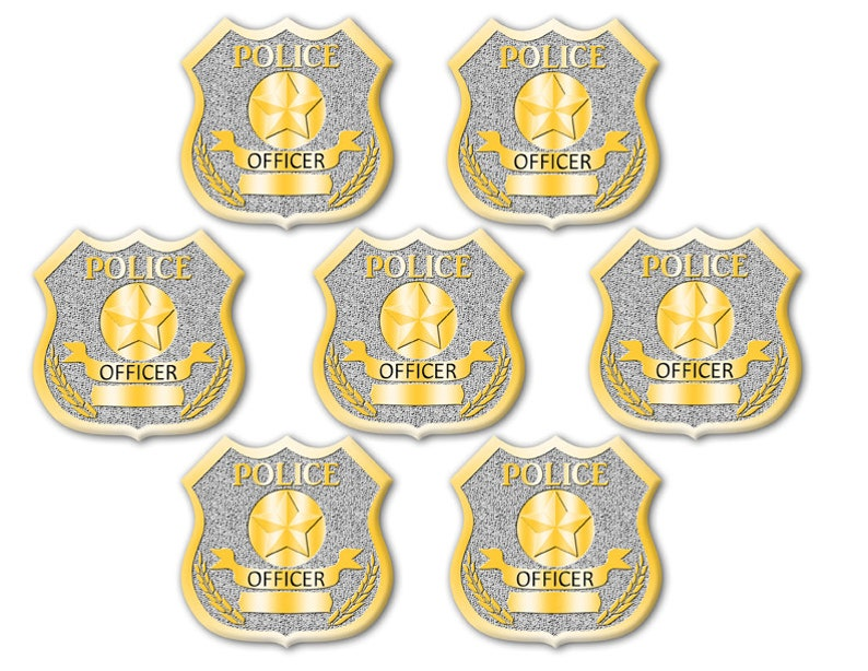 graphic about Printable Police Badge identified as Electronic Obtain Printable Law enforcement Badge
