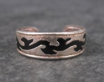 Vintage Sterling Toe Ring