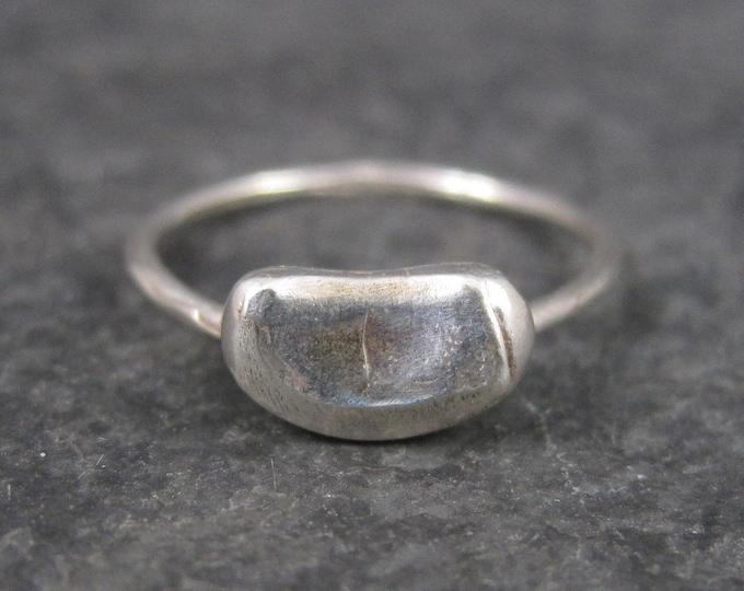 Handmade Vintage Sterling Jellybean Ring Size 5
