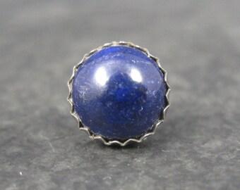 Vintage Southwestern Sterling Lapis Lazuli Tie Tack