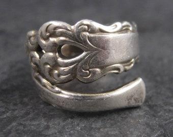Vintage International Sterling Spoon Ring Size 5.5