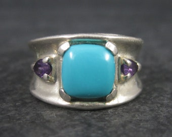 Sleeping Beauty Amethyst Ring Size 6 Carolyn Pollack