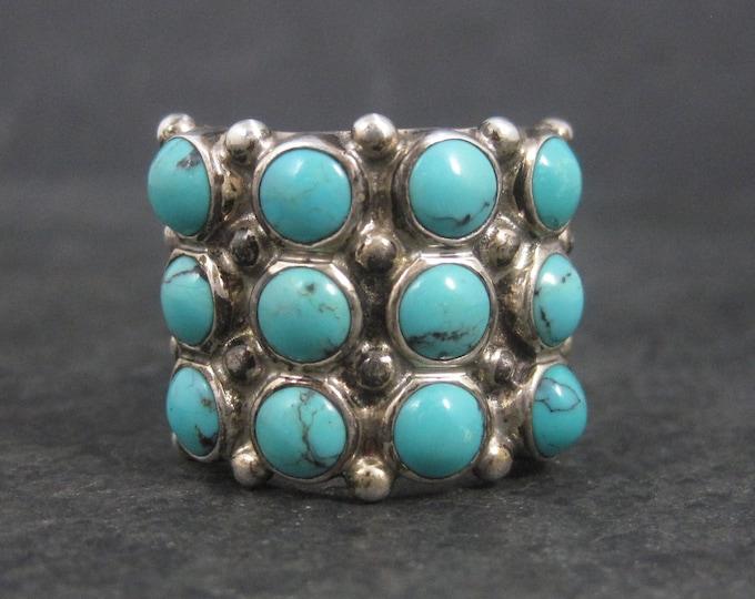 Janice Girardi Sterling Turquoise Ring Size 6