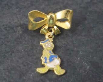 Vintage Licensed Disney Enamel Donald Duck Lapel Pin