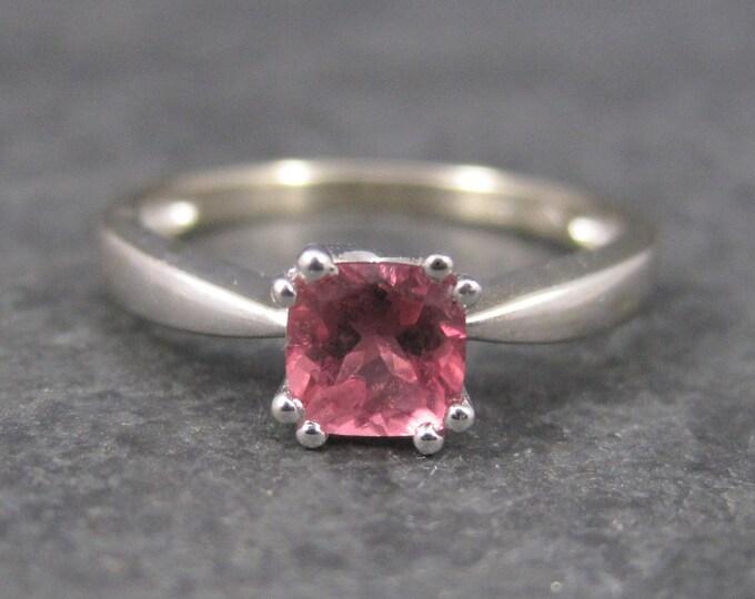 Vintage 14K Tourmaline Engagement Ring Size 7.5