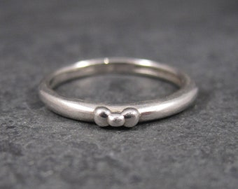 Sterling Hello Kitty Bow Ring Size 7 Licensed Sanrio