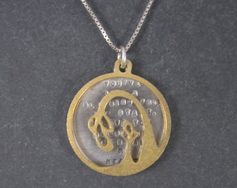 Kathy Bransfield Blessing Daughter Quote Necklace