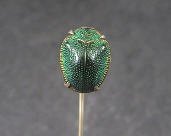 Antique Victorian Real Scarab Stick Pin