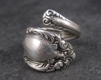 Vintage Towle Sterling Spoon Ring Size 8