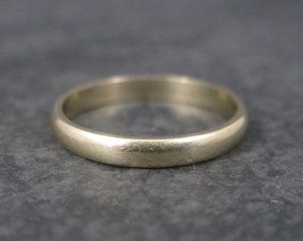 Vintage 10K Yellow Gold Band Ring Size 7 Dason