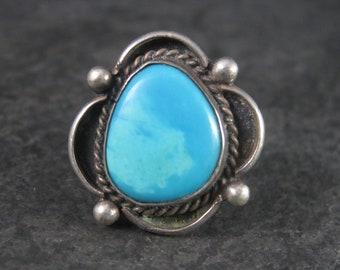 Vintage Southwestern Turquoise Ring Size 6