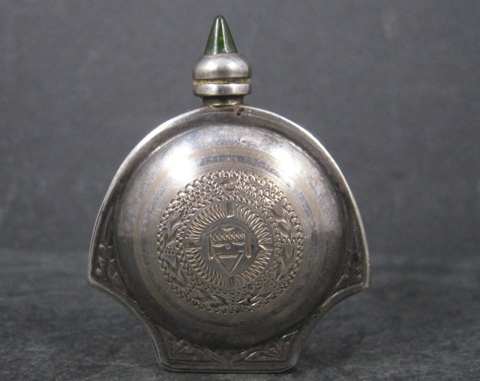 Vintage Mexican Sterling Perfume Bottle