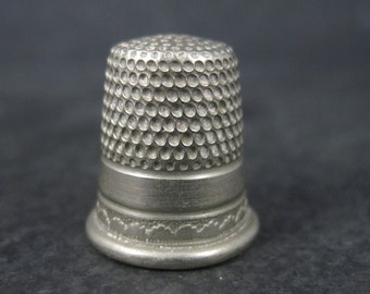 Antique England Thimble Size 7