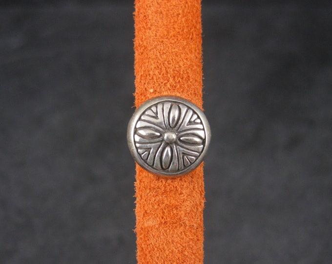 Southwestern Sterling Bracelet Slide