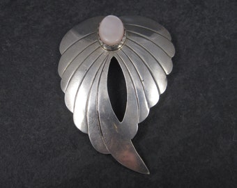 Vintage Navajo Mother of Pearl Brooch Elsie Yazzie