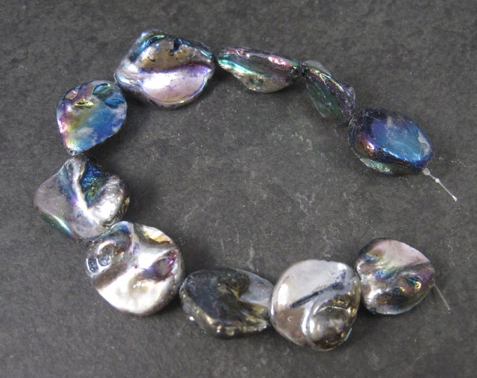Vintage Mother of Pearl Bead Strand