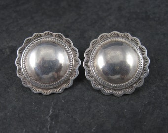 Vintage Southwestern Sterling Earrings