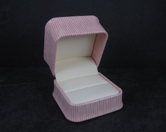 Pink Engagement Ring Box