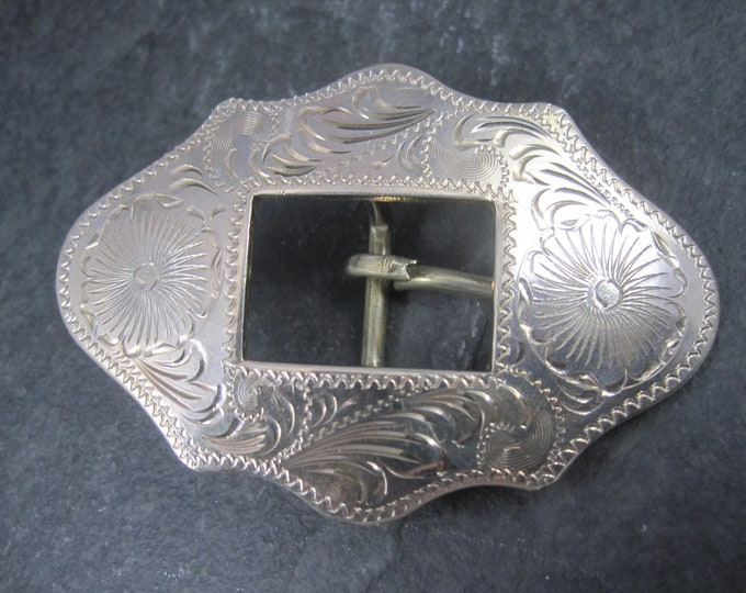 Ladies Vintage Mexican Western Belt Buckle