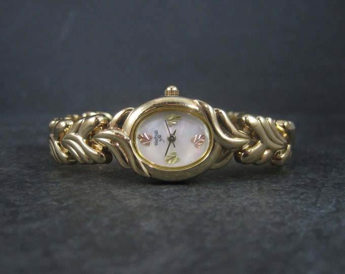 Ladies Black Hills Gold Watch 6.5 Inches 90s New Stock