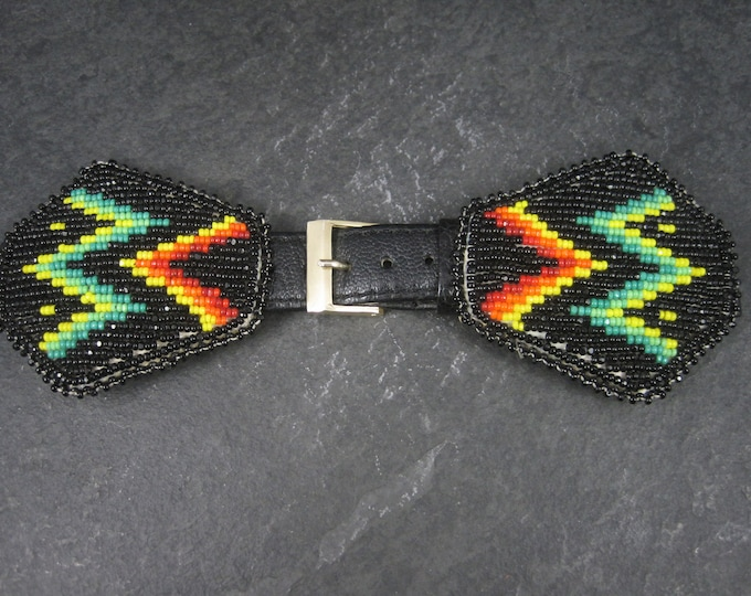 Vintage Native American Beaded Watch Band Douglas George