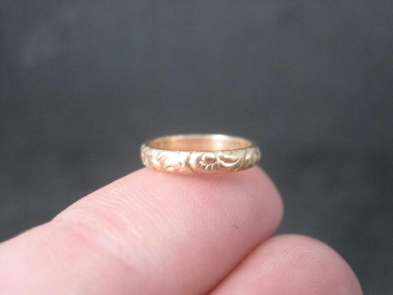 Antique Art Deco 14K Baby Ring