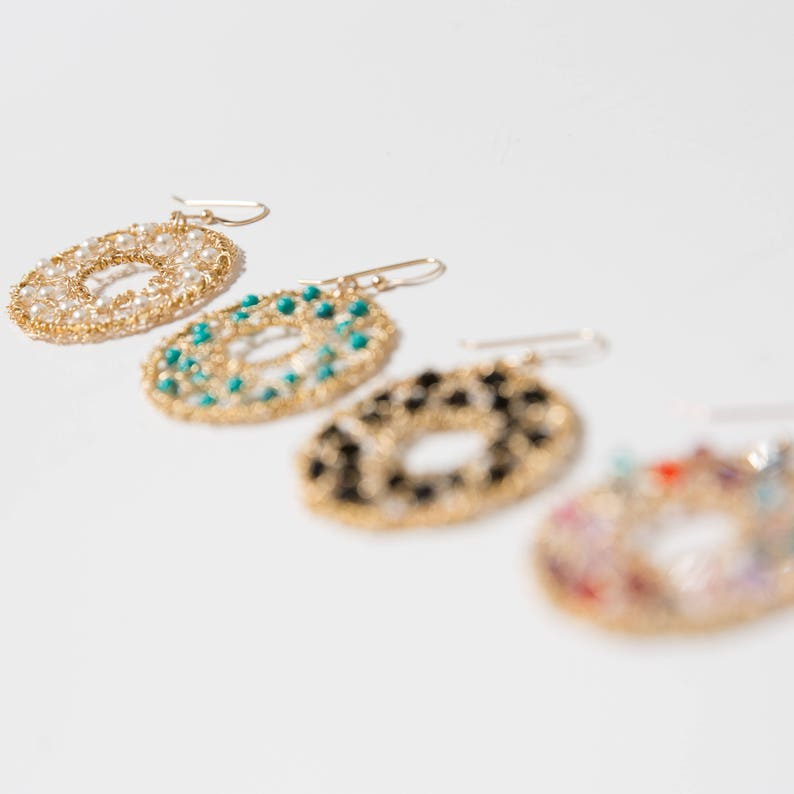 Long Gold Dangle Earrings Turquoise Hammered Earrings Gift Ideas,Thanksgiving GIfts Gold Chandelier Earrings Gold Filigree Jewelry