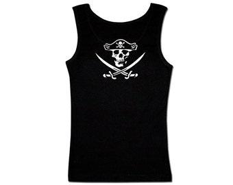 Men's Pirate Tank Top - Jolly Roger #2