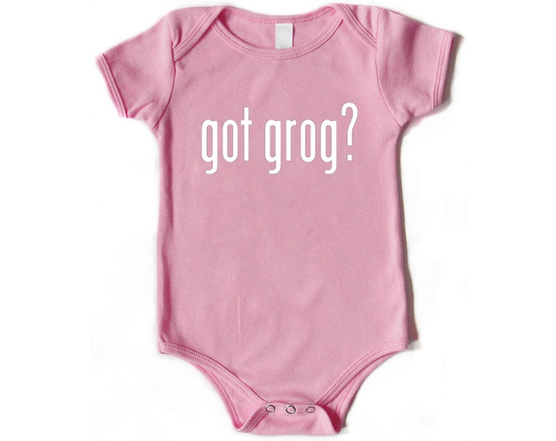 Infant One Piece Got Grog?