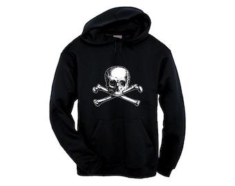 Unisex Hoodie - Olde Skull and Bones