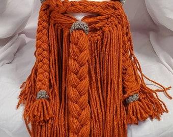 Viking/ Dwarven Hat with Long Beard