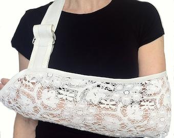 Arm Sling - Bohemian Rhapsody Designer Lace Arm Sling.
