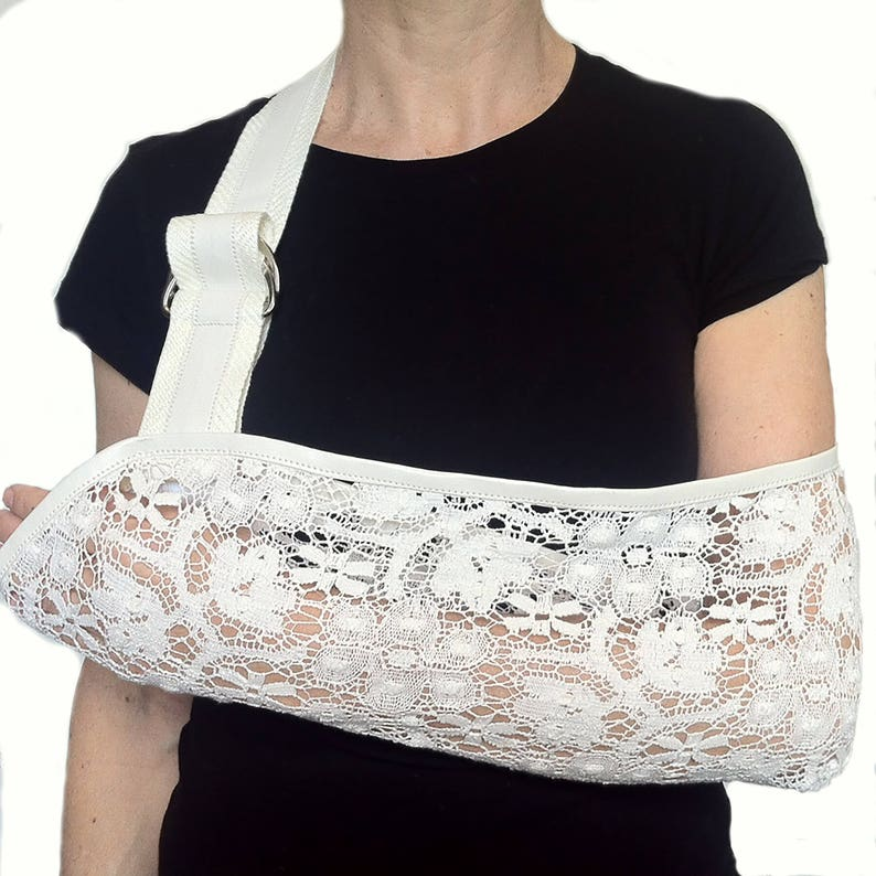Arm Sling  Bohemian Rhapsody Designer Lace Arm Sling. image 0